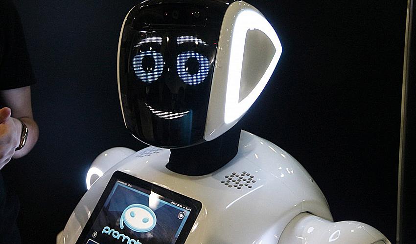 Робот Ваня не ругается и не ставит двоек